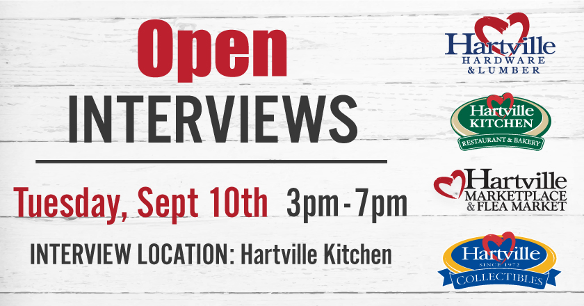 Open Interviews Hartville Marketplace Flea Market